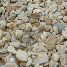 Blonde Flint Decorative Gravel 20mm/10mm