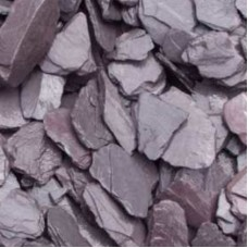 Plum Slate Decorative Chips 40mm